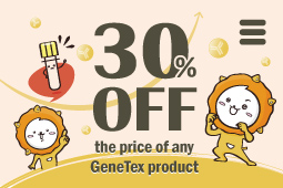30% off the price of any GeneTex product