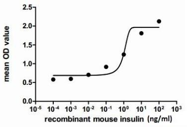Mouse Insulin protein (active). GTX00291-pro