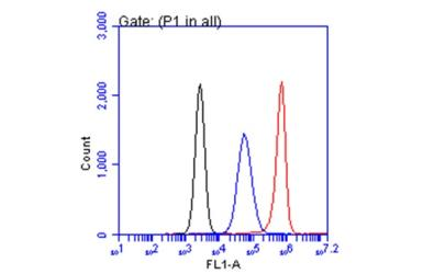Anti-CA19-9 antibody [GT933] used in Flow cytometry (FACS). GTX635389