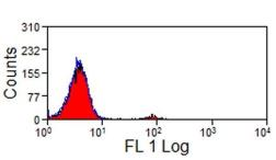 Anti-NKp46 antibody [AKS1] used in Flow cytometry (FACS). GTX31230
